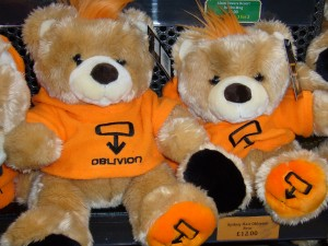 Alton Towers Oblivion bears