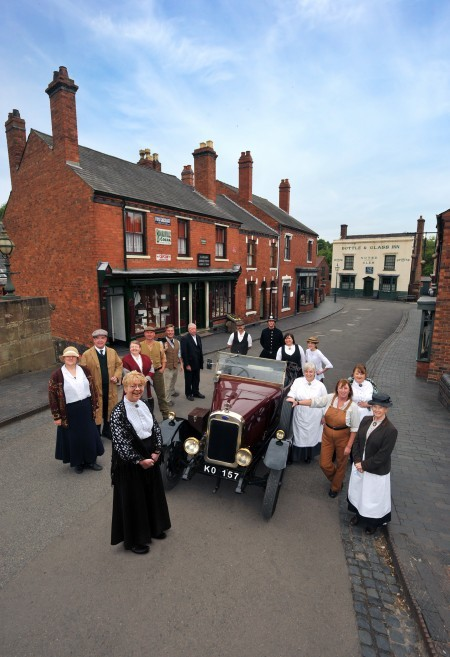Outside the black country living museum