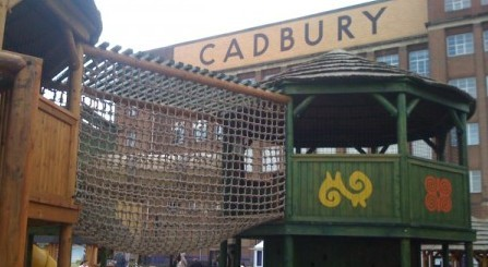 Cadbury World Playground