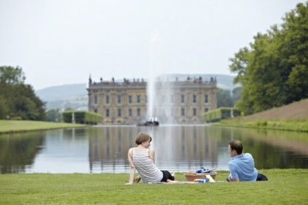 Chatsworth picnic by the water
