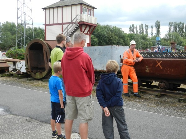 Snibston Colliery Tour