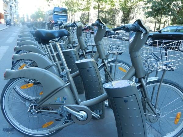 Velib_bikes in Paris