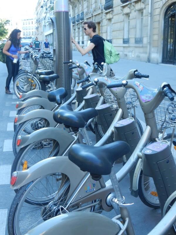 Velib Paris Bikes
