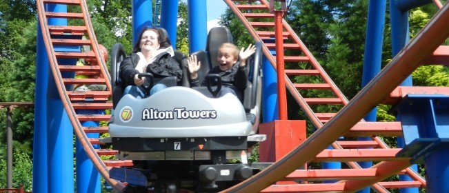 Alton Towers rides