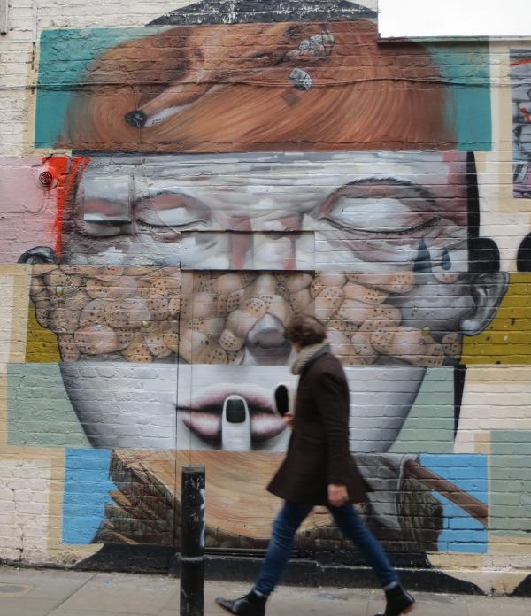 Alternative street art London