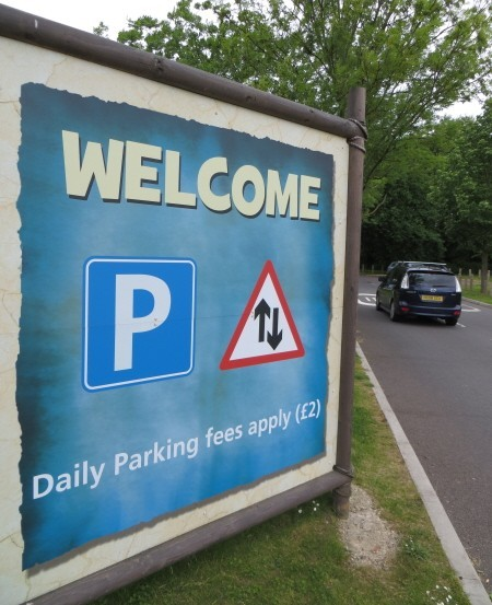 Car Parking At Chessington World Of Adventures