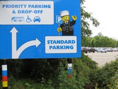 Drop off & collection at legoland windsor