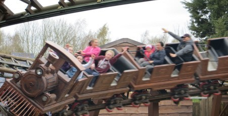 Chessington Scorpion Express