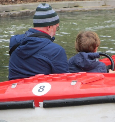 Legoland Windsor boat ride