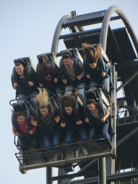 Thorpe Park Saw The Ride