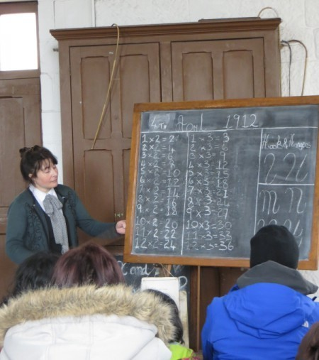 School room at the Black Country Living Museum