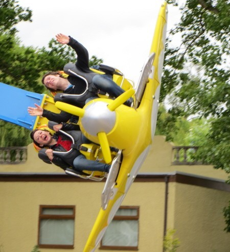 Drayton Manor Air Race Attraction