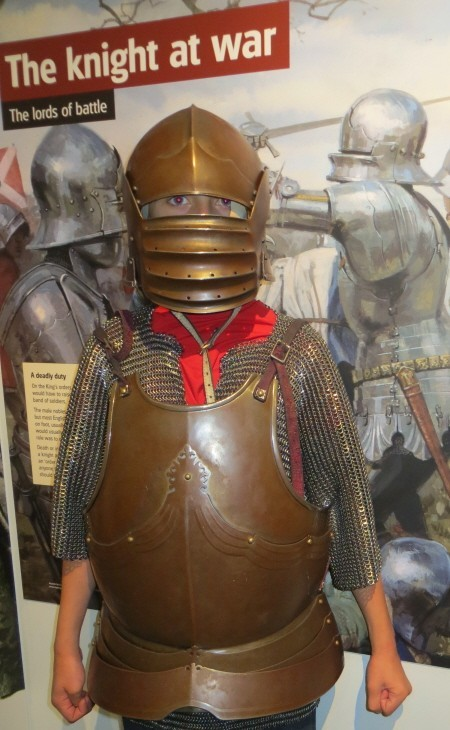 Knight at Bosworth Battlefield