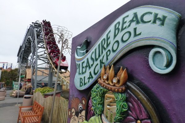 Blackpool pleasure beach rides