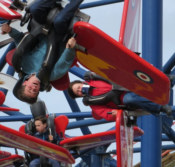Blackpool Pleasure Beach; Skyforce