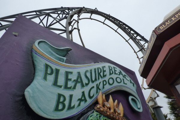coasters at blackpool pleasure beach