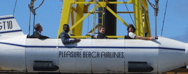 Blackpool Pleasure beach airlines
