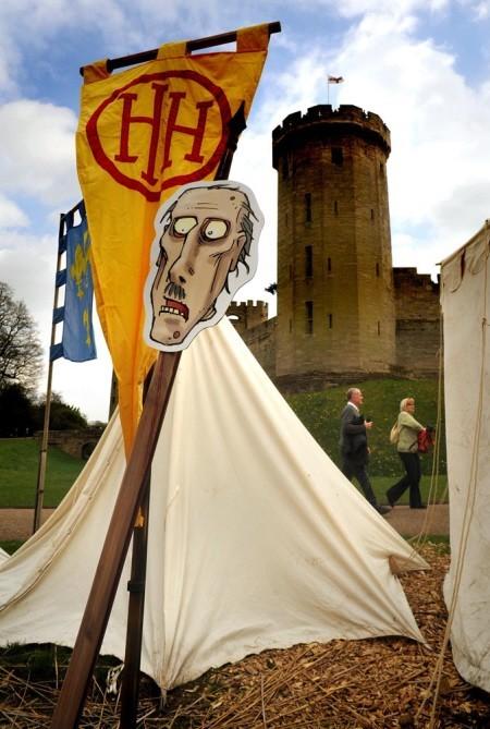 Warwick castle 2 for 1 vouchers