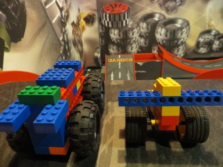 Lego Racers at Legoland Discovery Centre