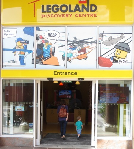 entrance to the Legoland Discovery Centre
