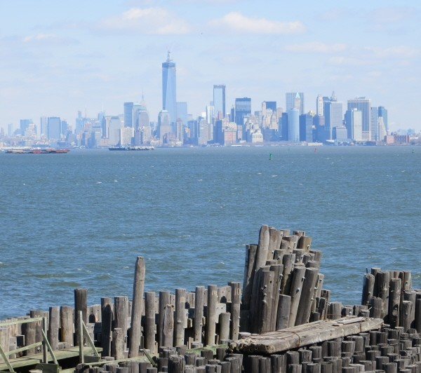 Staten Island view New York
