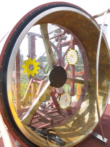 Birmingham Thinktank Hamster Wheel