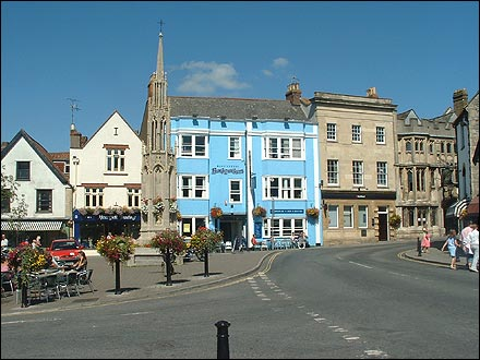 Glastonbury Town ©BBC images