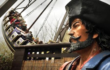 Pirate Ship at Gulliver's Theme Park