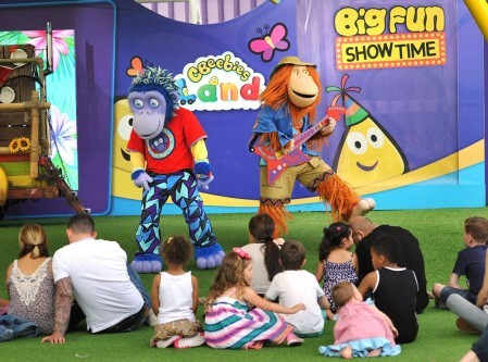 CBeebies Land show at Alton Towers
