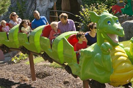 Legoland Windsor dragon's apprentice