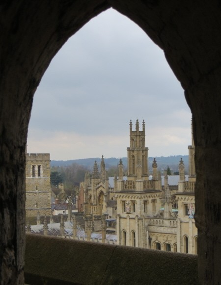 Oxford Views from St Mary's Church Tower
