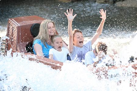 Legoland Windsor water flume ride