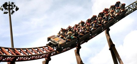 Alton Towers Rita Coaster