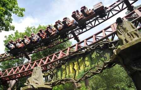 Thirteen coaster at Alton Towers