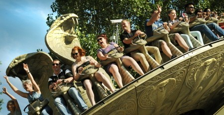 Kobra ride at Chessington World of Adventures