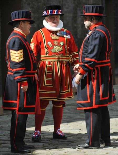 The Tower of London Guards