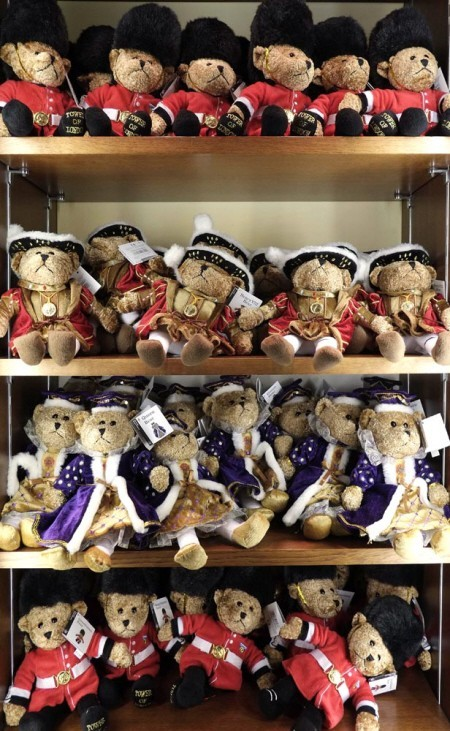 The tower of london teddies and beefeaters