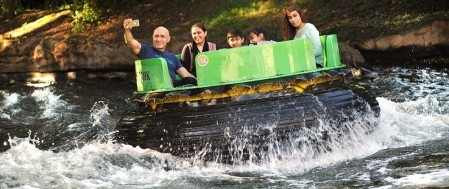 Water rides at Thorpe Park