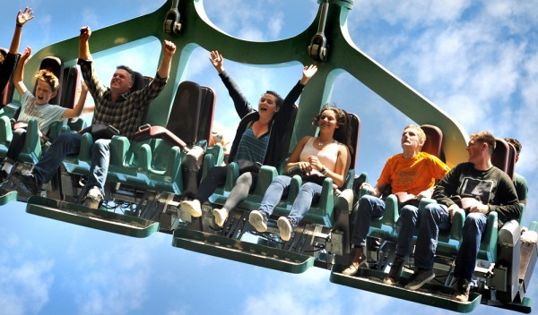 2 for 1 vouchers at Thorpe Park