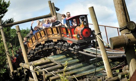 Runaway Minte Train at Alton Towers