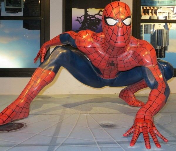 spiderman at Madame Tussauds London