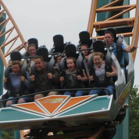 thrill rides at Oakwood Theme Park