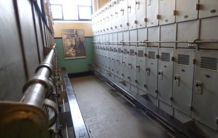 Former miner's locker