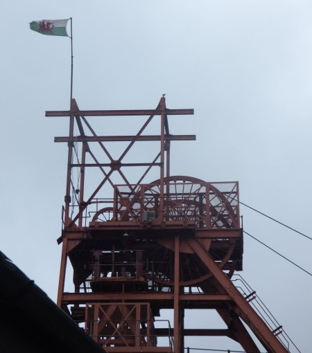 The Big Pit in Wales