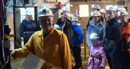 Underground tours with former miner