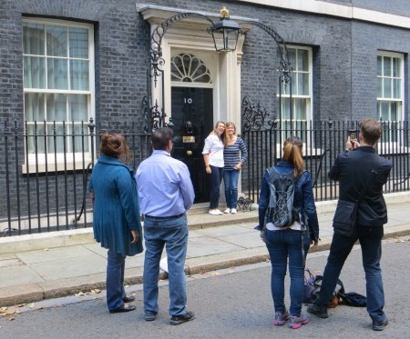open house london pictures outside 10 downing street tour