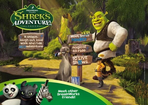 Shrek's Adventure London