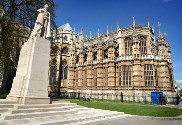 Westminster Abbey visiting in London