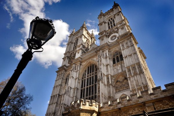 Westminster Abbey in central London