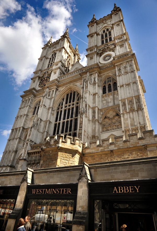 Westminster Abbey and ticket office